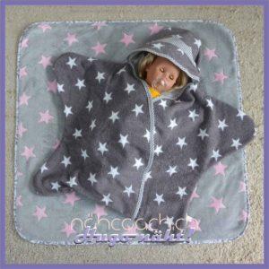 Frottee-Sternchen und Babydecke